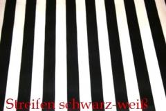 Stoff-Streifen-schwarz-weiß